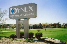 Dynex Entry Sign